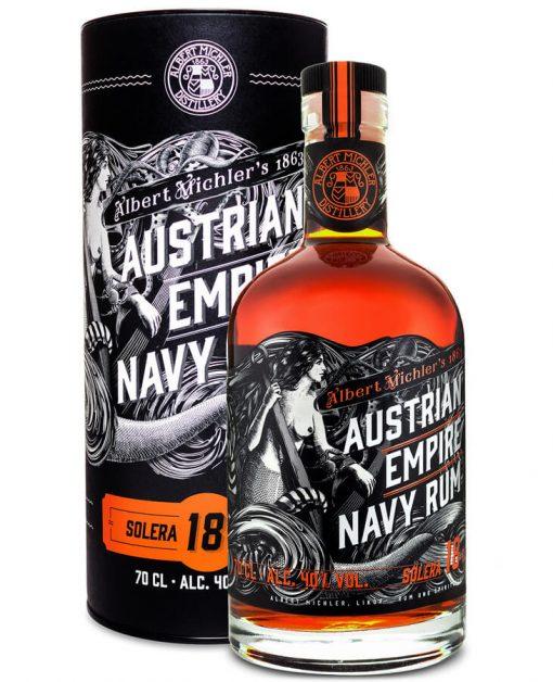 Austrian Empire Navy Rum Solera 18 ročný - 0,7l - 40%