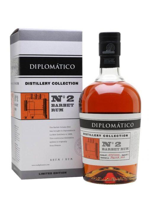 Diplomatico NO.2 Barbet Column Distillery Collection – 0,7l – 47%