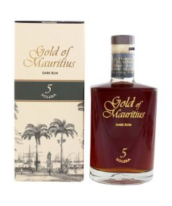 Gold of Mauritius Dark Rum 5YO