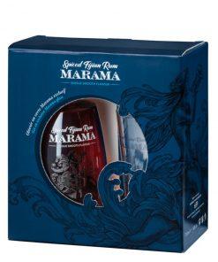 Marama Spiced Fijian Rum s pohárom - 0,7l - 40% - Fidži