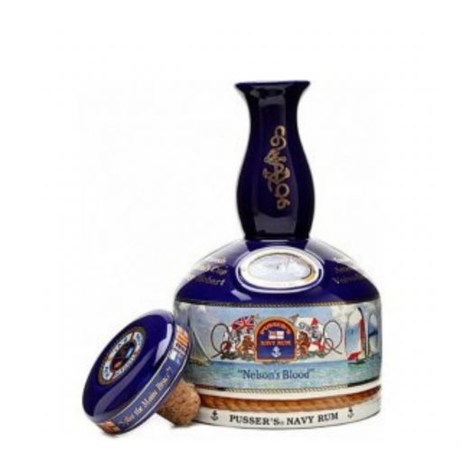 Pussers British Navy Yachting Ship Decanter – 15YO -1l – 42%
