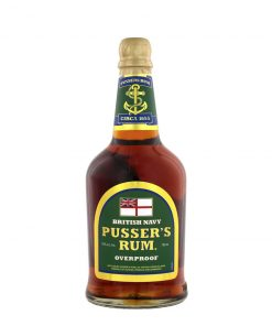 Pussers Overproof – 0,7l – 75%