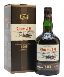 Rhum J.M Vieux Millesime 2005 – 0,7l – 43,8%