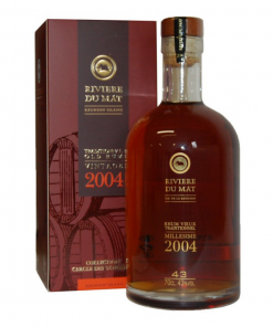 Rivière du Mat Rhum Vieux Traditionnel Millesime 2004 43% 0,7 l in Giftbox