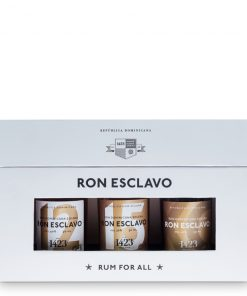 Ron Esclavo Solera Mini Set - 3x0,05l - 40% - Dominikánska republika