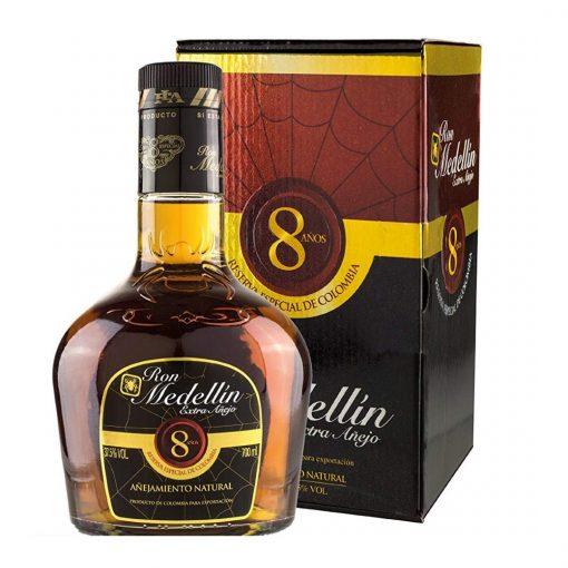 Ron Medellín Extra Anejo – 8YO – 0,7l – 37,5%