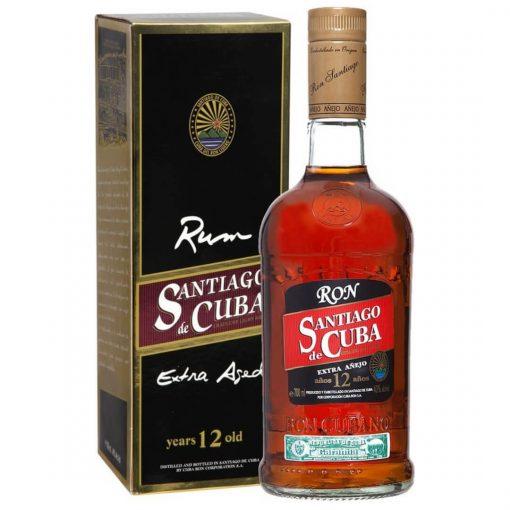 Santiago de Cuba Extra Anejo 12YO – 0,7l – 40%