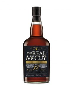 The Real McCoy 12YO Single Blended Rum – 0,7l – 46%