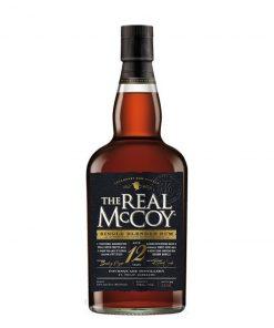 The Real McCoy 12YO Single Blended Rum – 0,7l – 46%
